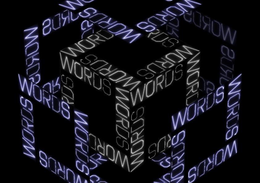 video ontwerp | typografische film | What's a Word Worth